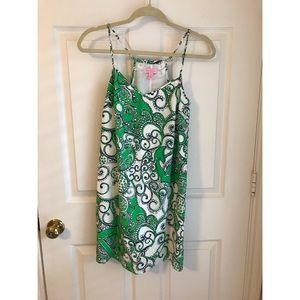 Lilly Pulitzer Green Print Dress